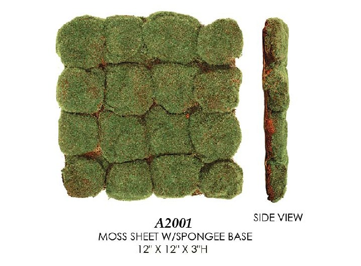 Artificial Topiary Trees, Topiary Wall, Moss Sheet with Spongee Base