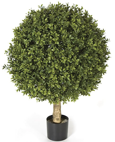 Artificial topiary trees outdoor topiary 24 inch plastic for Garden topiary trees