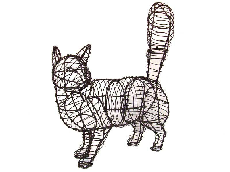 Cat Walking Frame Topiary, 18 x 17 x 6