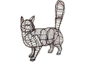 Cat Walking, 18 inch   (Frame) 18 inch  x 17 inch  x 6 inch