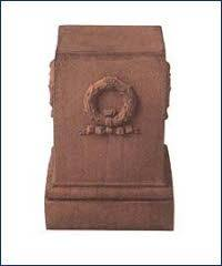 OPD03T, Terracotta Pedestal | TopiaryTree and NET