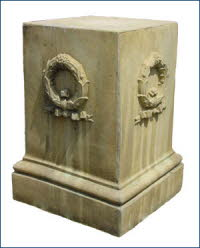 OPD03TC, Shop for Cotswold Terracotta Pedestal | TopiaryTree and NET