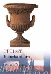 OPT165T, Shop for Blanchard Urn Terracotta Pot | TopiaryTree and NET