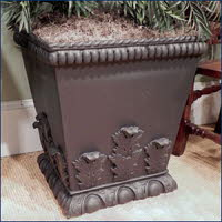 OPT170BLK, Shop for a Acanthus Leaf Urn Terracotta Pot | TopiaryTree and NET