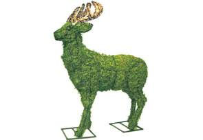 Deer, 18 inch  (Mossed) 18 inch  x 15 inch  x 6 inch