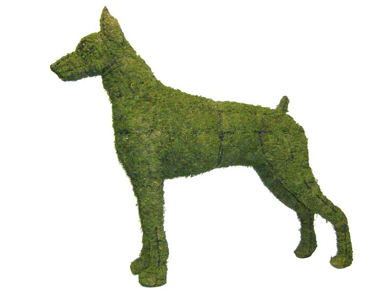 Moss Topiary Animals | Dog, Poodle & Horse Topiaries