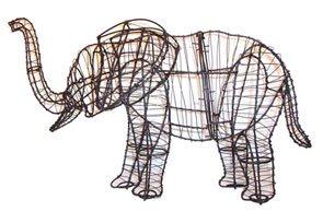 Elephant, 19 inch  (Frame) 19 inch  x 27 inch  x 9 inch