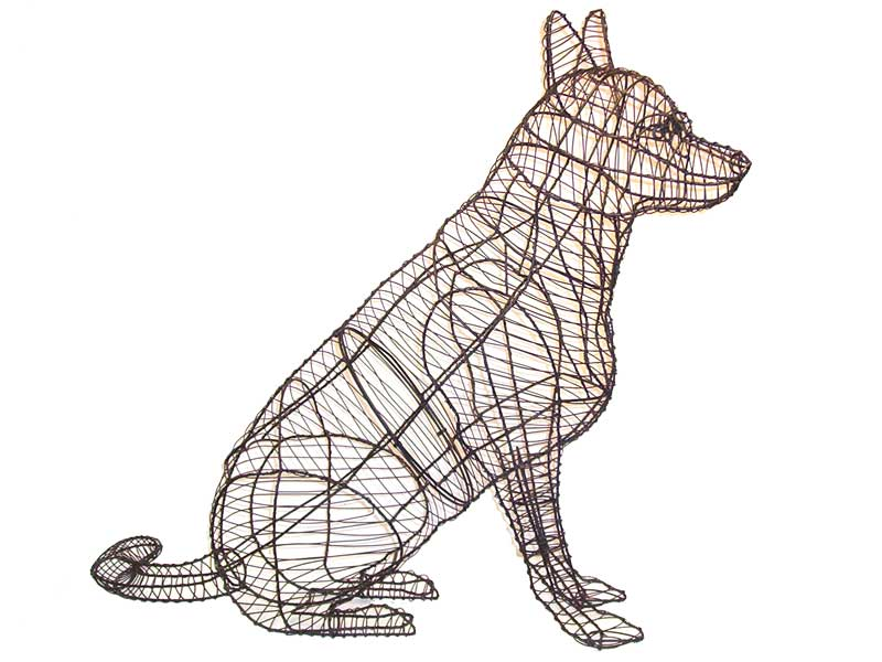 Metal Wire Topiary Frames | Custom Animal Topiaries