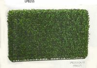 24 inch Height by 7 inch Wx36 inch L Boxwood Hedge Two Tone Green