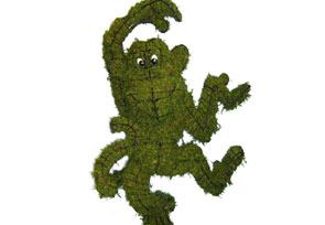 Funky Monkey Moss Topiary - 30 inches Tall