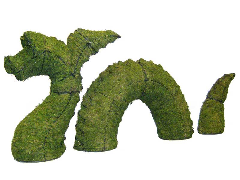 Nessie, 38 inch  (Mossed) 38 inch  x 85 inch  x 17 inch
