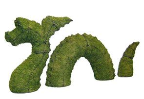 Nessie, 24 inch  (Mossed) 24 inch  x 64 inch  x 13 inch