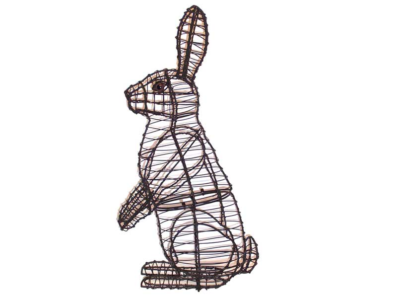 Rabbit, Sitting Upright, 34 inch  (Frame) 34 inch  x 18 inch  x 11 inch