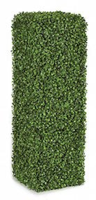 3 Foot Plastic Boxwood Column