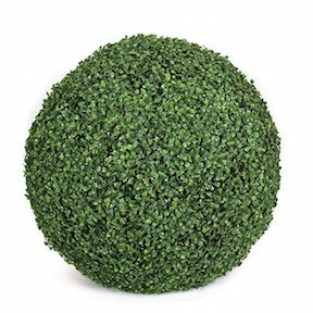24 Inch Plastic Boxwood Ball
