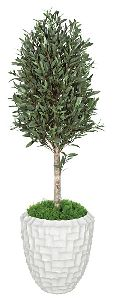 Artificial Topiary Trees, Ball Topiary, 5 feet   Olive Tree Topiary